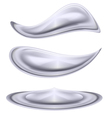 Water forms vector image vector image
