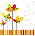 springtime abstract vector image vector image