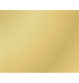 background of corrugated gold vector image