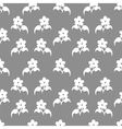 Seamless pattern with flovers vector image vector image