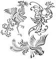 Phoenix illustration vector image
