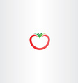 tomato icon logo sign vector image