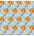 Funny umbrella vector image