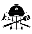 BBQ logo design template Grill or cooking vector image