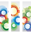 circle banners vector image