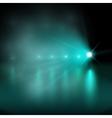Light show blue vector image