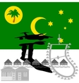 Cocos Islands vector image vector image