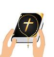 catholic religion vector image