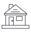 househome repair line icon sign vector image