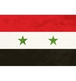 True proportions Syria flag with texture vector image