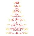 line decoration vector image