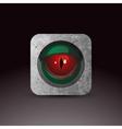 Dragon eye vector image vector image