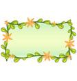 Leafy vector image