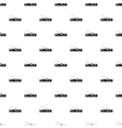 Trolleybus pattern simple style vector image
