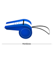 A Whistle of The Republic of Honduras vector image