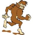 Bigfoot vector image