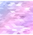 Colorful pink violet purple polygonal background vector image