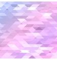 Colorful pink violet purple polygonal background vector image