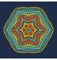 Tribal Round Pattern vector image