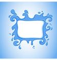 watersplash vector image