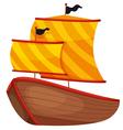 Ancient Ship vector image