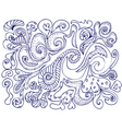 pattern ink vector image vector image