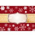 Retro Christmas Banner vector image