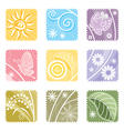 9in1 Floral vector image vector image