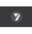 Number 7 seven logo icon design vector image