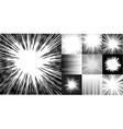 Japanies manga comic book speed horizontal lines vector image
