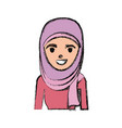 arab woman cartoon vector image