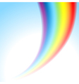 rainbow light vector image