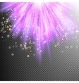 Purple burst effect EPS 10 vector image vector image