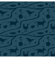 ancient man wall painting seamless pattern vector image