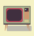 old tv of the good old retro tv vector image