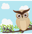 owl design vector image