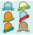The icons and emblems for various purposes vector image