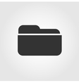 Folder icon flat design vector image