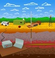 logging systems and probes vector image