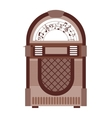 jukebox isolated icon design vector image