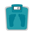 scale weight fitness lifestyle vector image