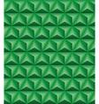 Tripartite pyramid green seamless texture vector image