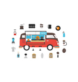 249isolated mobile coffee vector image