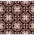 Antique seamless pattern with floral elements vector image