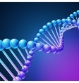 Digital nature medical science background vector image