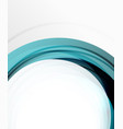 abstract background swirl wave line template vector image vector image