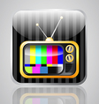 app tv vector image
