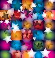 disco stars vector image vector image
