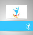 success energy template vector image vector image