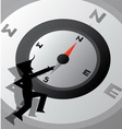 Compass Life Wallpaper vector image